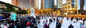 Discovery Green Ice Skating Ring